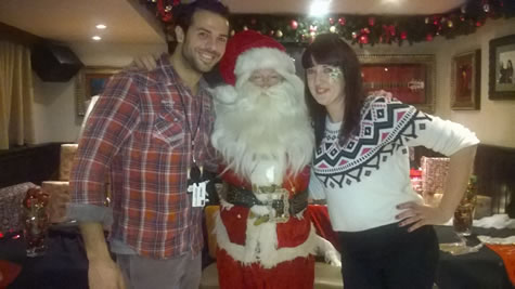 2015 Breakfast with Santa - Hard Rock Café Edinburgh