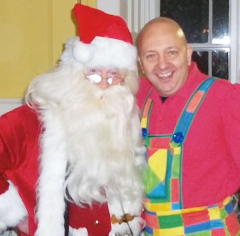 Santa with Robbie Dee CFM RADIO