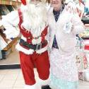Santa at Carlisle Covered Market Xmas event